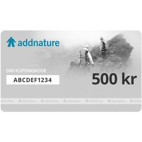 addnature Kunpongkode 500 kr